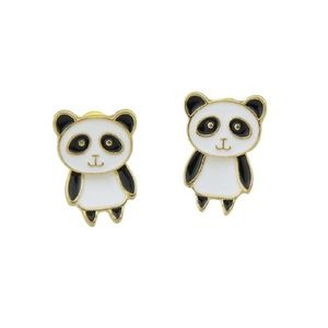 New Panda Jacket Earrings!!